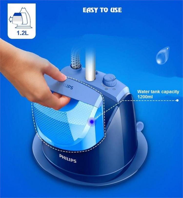 Bàn ủi hơi nước đứng Philips GC499 8