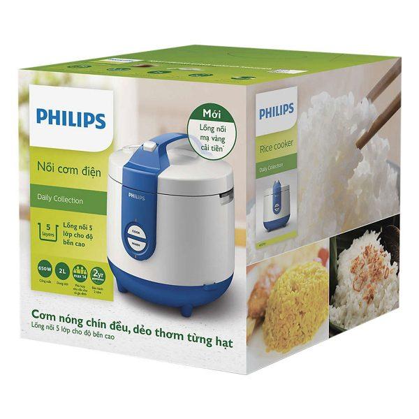 Nồi Cơm Điện Philips HD3119/66 (2 Lít) 4