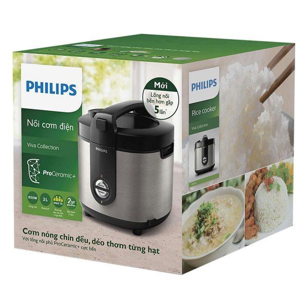 Nồi Cơm Điện Philips HD3132/66 (2 Lít) 3