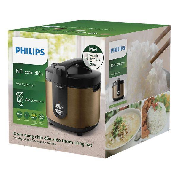 Nồi Cơm Điện Philips HD3132/68 (2 Lít) 10