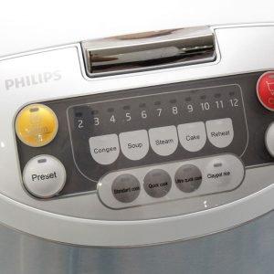 Nồi Cơm Điện Tử Philips HD-3038 1.8L 35