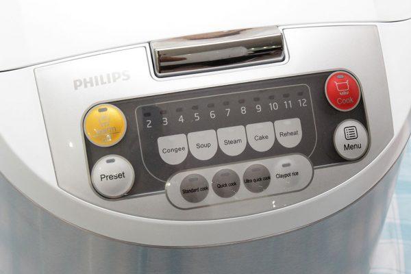 Nồi Cơm Điện Tử Philips HD-3038 1.8L 13