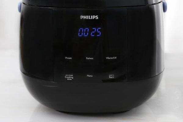Nồi Cơm Điện Tử Philips HD3060 (0.7L) - Đen 13