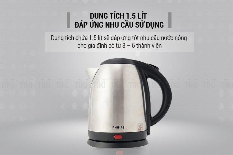 Bình Đun Siêu Tốc Philips HD9306 (1.5L)