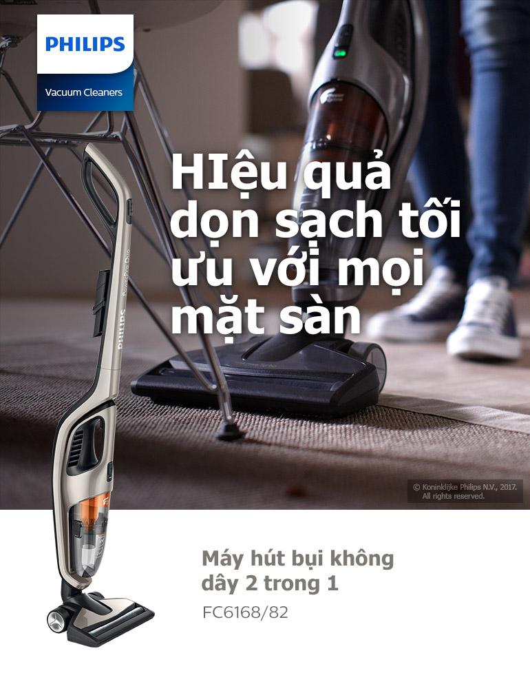 Máy Hút Bụi Cầm Tay Philips FC6168 10