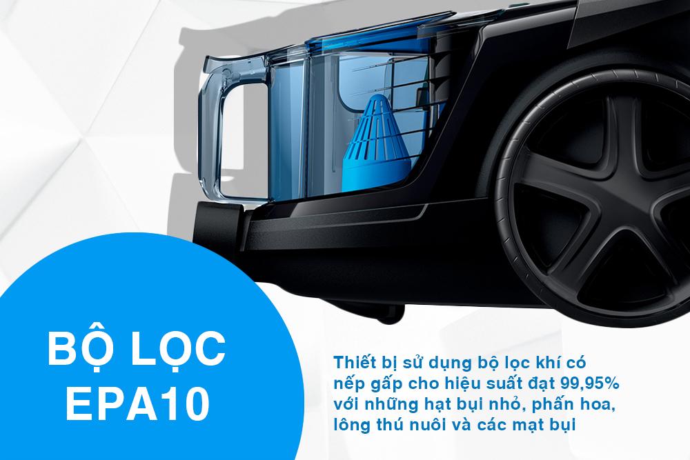 Máy Hút Bụi Philips FC9350 (1800W) - Đen 15