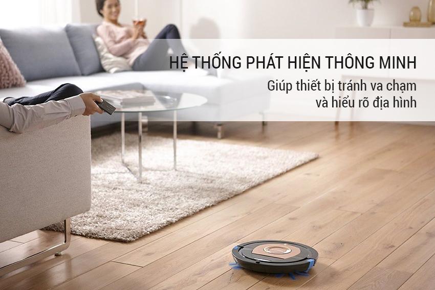 Robot Hút Bụi Philips FC8776 - Vàng Đồng 14