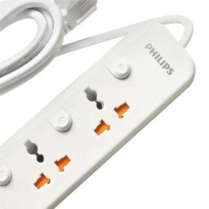 Ổ Cắm Điện 3 Chấu 2 cổng USB Philips SPN6248WB/74 (2500W) 5