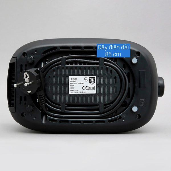 Máy Nướng Bánh Mì Philips HD2582 (830W) 10