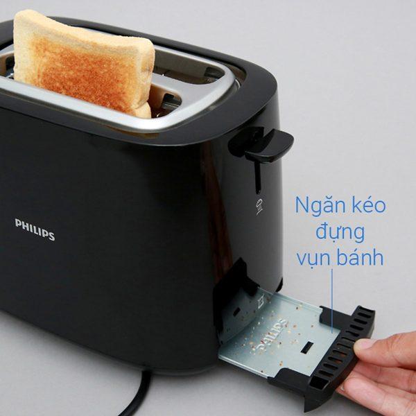 Máy Nướng Bánh Mì Philips HD2582 (830W) 11