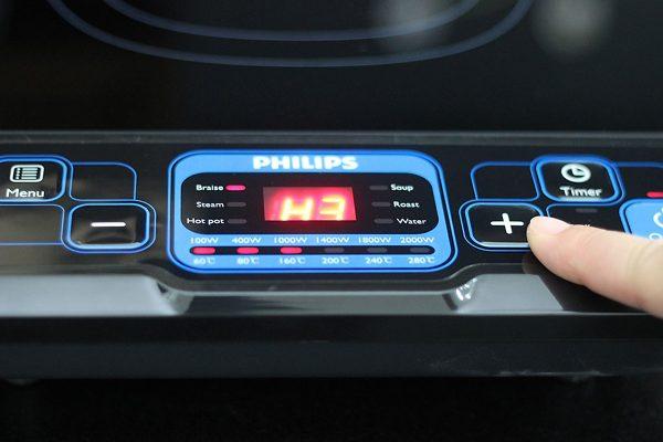 Bếp Điện Từ Philips HD4921 - Hàng Chính Hãng 3