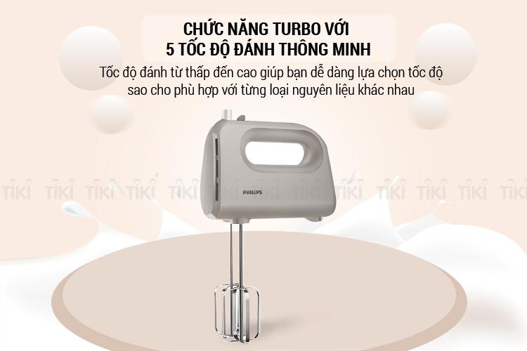 Máy Đánh Trứng Philips HR3705 (300W)