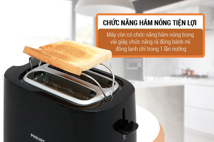 Máy Nướng Bánh Mì Philips HD2582 (830W)