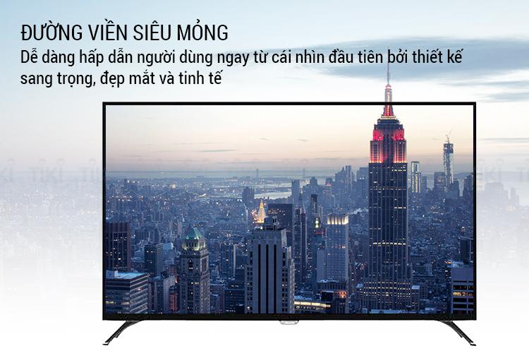 Smart Tivi Philips 55 inch UHD 4K 55PUT6002S/67 - Hàng Chính Hãng