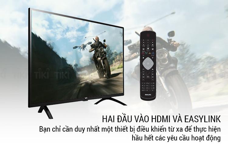 Tivi Philips 32 inch HD 32PHT4003S/74 - Hàng Chính Hãng