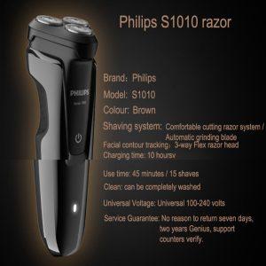 Máy cạo râu 3 lưỡi Philips tích hợp đèn led S1010 19