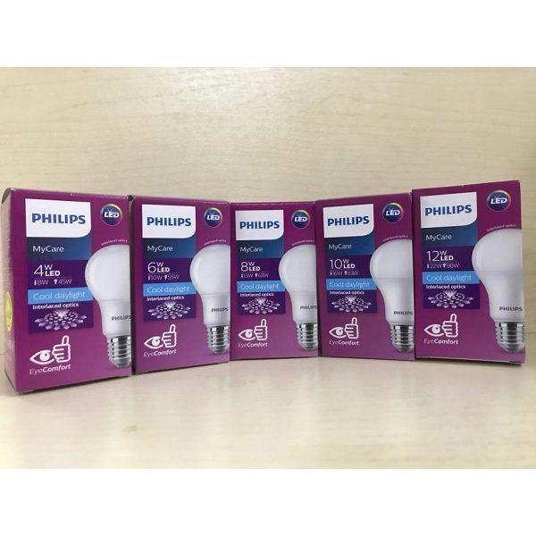 Bóng đèn Philips LED MyCare 8W 6500K E27 A60 - Ánh sáng trắng 3