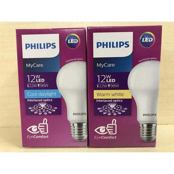 Bóng đèn Philips MyCare 12W 6500K E27 A60 - Ánh sáng trắng 4