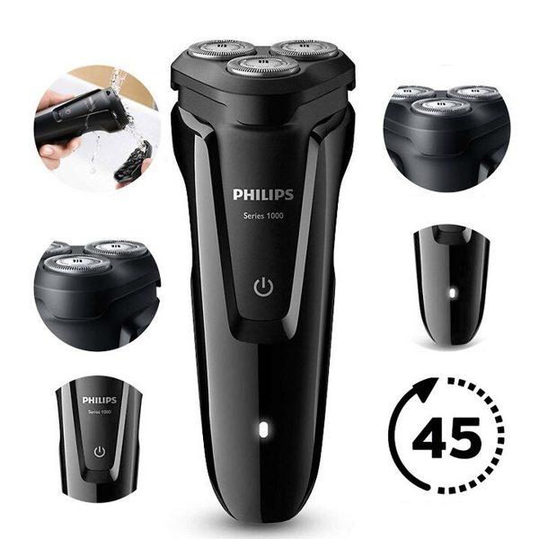 Máy cạo râu 3 lưỡi Philips tích hợp đèn led S1010 4