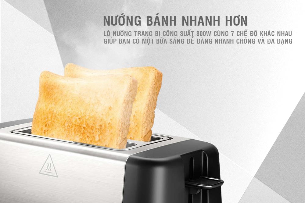Lò Nướng Sandwich Philips HD4825