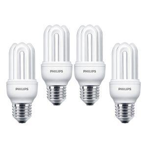 Bóng đèn Compact 3U Philips Genie 11W 6500K E27 - Ánh sáng trắng 3