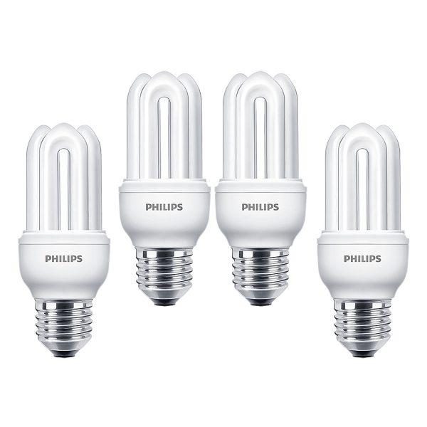 Bóng đèn Compact 3U Philips Genie 11W 6500K E27 - Ánh sáng trắng 2