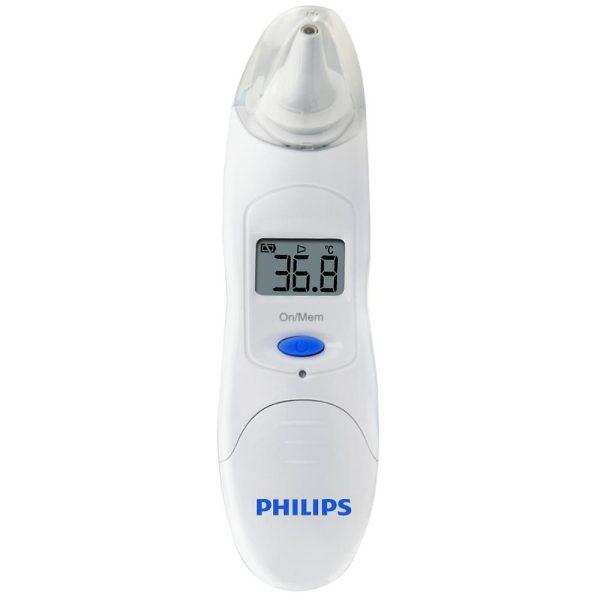Nhiệt Kế Hồng Ngoại Đo Tai Philips TH889S 3