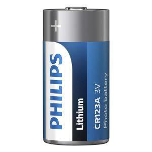 Pin Minicells Lithium Philips 3V CR123A ( 1 viên 3V) 3