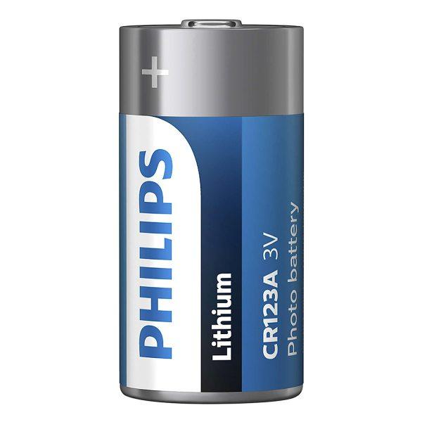 Pin Minicells Lithium Philips 3V CR123A ( 1 viên 3V) 2