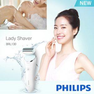 Máy cạo lông khô và ướt dành cho nữ Philips BRL130/00 18