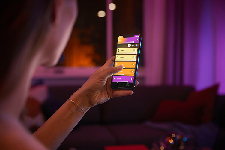 Bộ Đèn Philips Hue White And Color Ambiance-Starter Kit