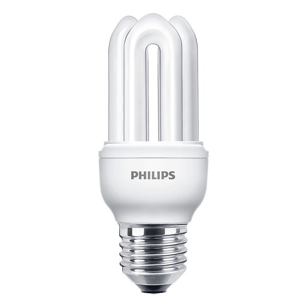 Bóng đèn Compact 3U Philips Genie 11W 6500K E27 - Ánh sáng trắng 1