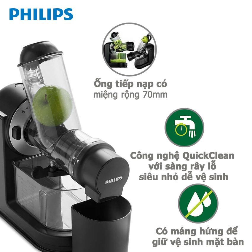 Máy Ép Chậm Philips HR1889 (150W)