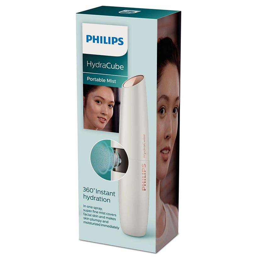 Máy phun sương cầm tay dưỡng ẩm da mặt Philips BSC601 14