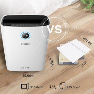 Máy lọc không khí kèm chức năng tạo độ ẩm 2 trong 1 Philips Series 3000 AC2726/00 27