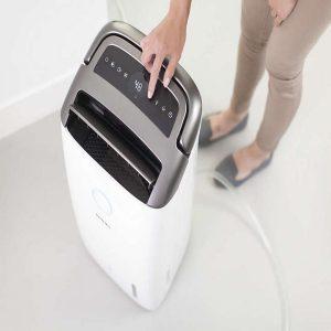 Máy lọc không khí kiêm hút ẩm Philips DE5206/00 355W-Cảm biến không khí 4 màu 20