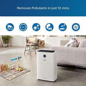 Máy lọc không khí kèm chức năng tạo độ ẩm 2 trong 1 Philips Series 3000 AC2726/00 20