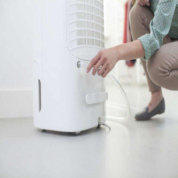 Máy lọc không khí kiêm hút ẩm Philips DE5206/00 355W-Cảm biến không khí 4 màu 7