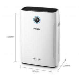 Máy lọc không khí kèm chức năng tạo độ ẩm 2 trong 1 Philips Series 3000 AC2726/00 21