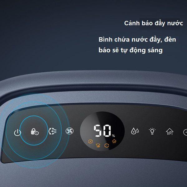 Máy lọc không khí kiêm hút ẩm Philips DE5206/00 355W-Cảm biến không khí 4 màu 5