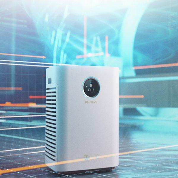 Máy lọc không khí cao cấp kháng khuẩn Philips AC5668/00 tích hợp Wifi - 65W 10