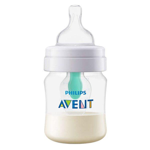Bình sữa giảm đầy hơi với van giữ sữa AirFree Philips Avent SCF810/14 - 125ml 6