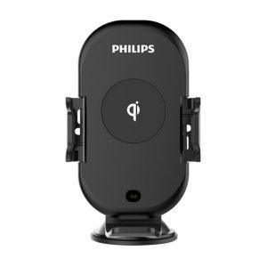 Gía đỡ điện thoại kiêm sạc không dây trên ô tô, xe hơi Philips DLK9411N 28