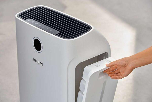Máy lọc không khí kèm chức năng tạo độ ẩm 2 trong 1 Philips Series 3000 AC2726/00 6