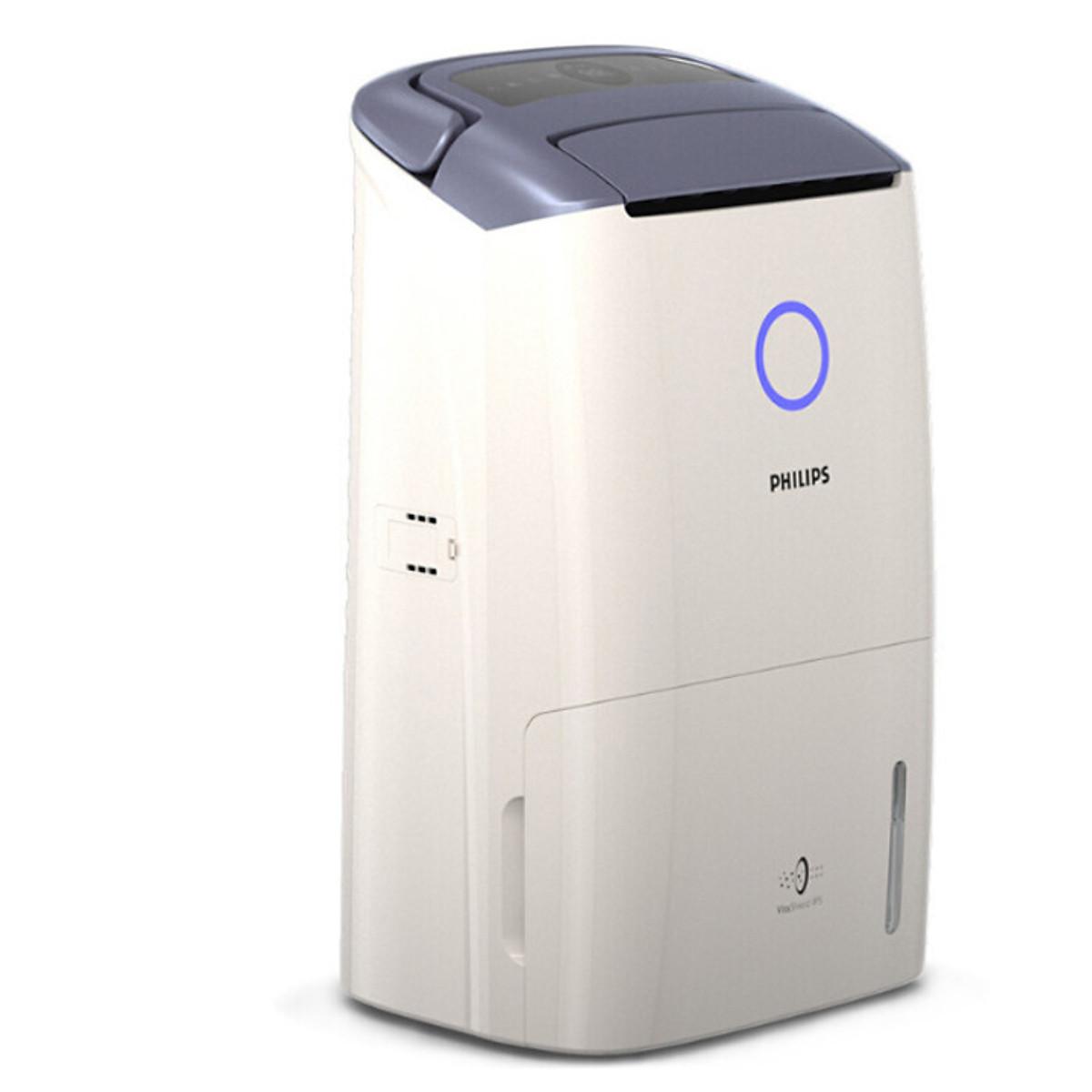 Máy lọc không khí kiêm hút ẩm Philips DE5206/00 355W-Cảm biến không khí 4  màu chính hãng