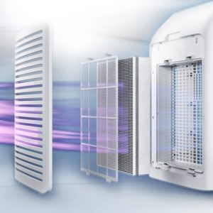 Máy lọc không khí kèm chức năng tạo độ ẩm 2 trong 1 Philips Series 3000 AC2726/00 37