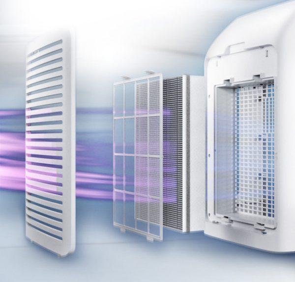 Máy lọc không khí kèm chức năng tạo độ ẩm 2 trong 1 Philips Series 3000 AC2726/00 19