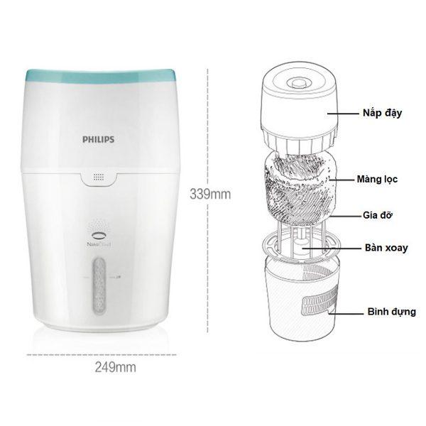 Máy tạo độ ẩm Philips HU4803 - 15W 9