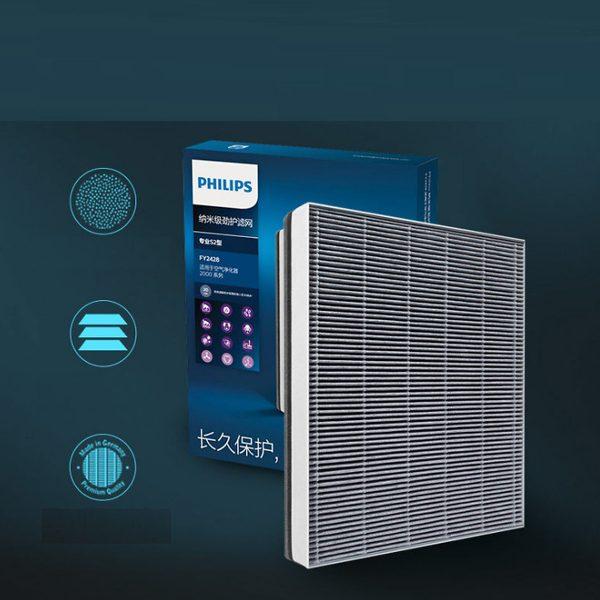 Tấm lọc, màng lọc không khí Philips FY2428 dùng cho các mã AC2882, AC2885, AC2887, AC2889, AC2886, AC2888, AC2890, AC2878, AC3829, AC3829 8