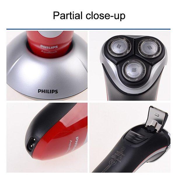 Máy cạo râu nhãn hiệu Philips AT800/16 3 lưỡi cạo tự mài 4